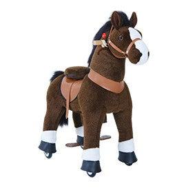 Chocolate Brown Horse, Medium