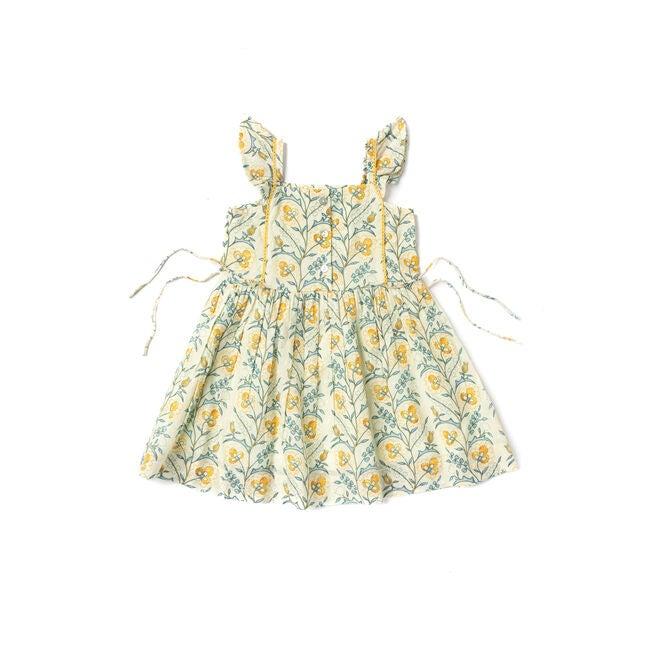 Pinafore Dress, Mustard Wallpaper