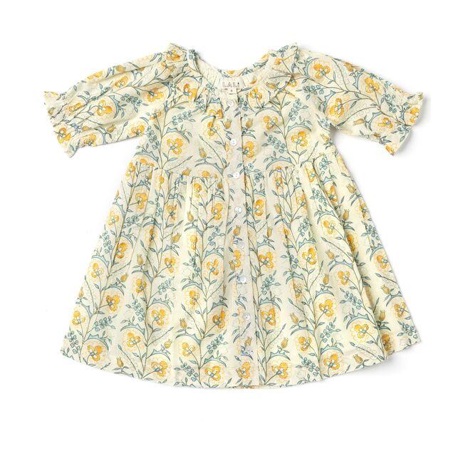 Ivy Dress, Mustard Wallpaper
