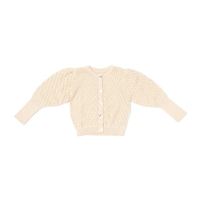 Knit Cardigan, Cream