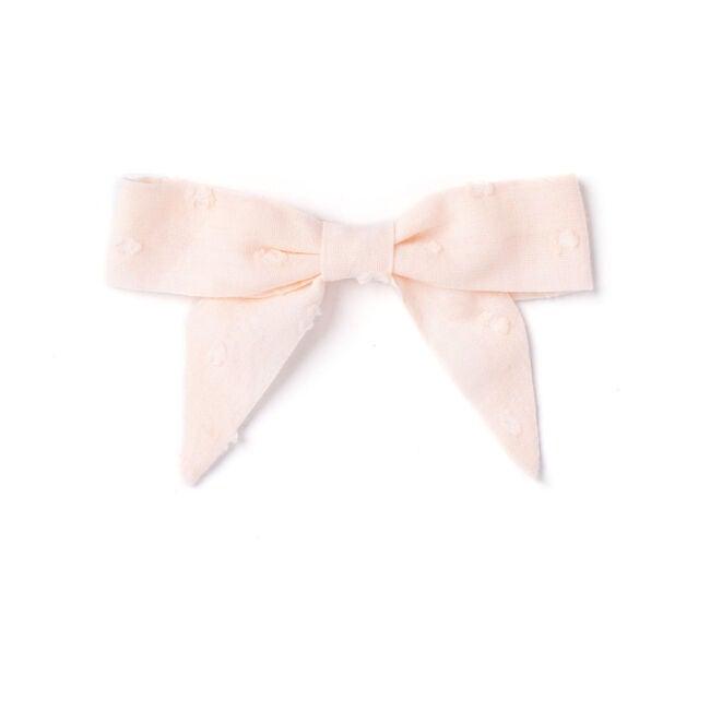 Bow, Pink Swiss Dot