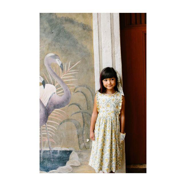 Clover Dress, Mustard Wallpaper
