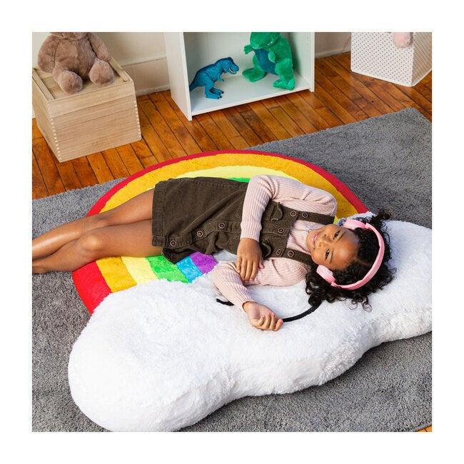 Floor Play Cushion, Rainbow