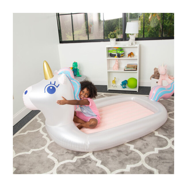Dream Inflatable Sleepover Bed, Unicorn