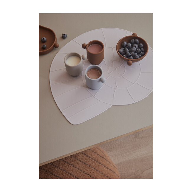 Nautilus Shell Silicone Placemat, Lavender