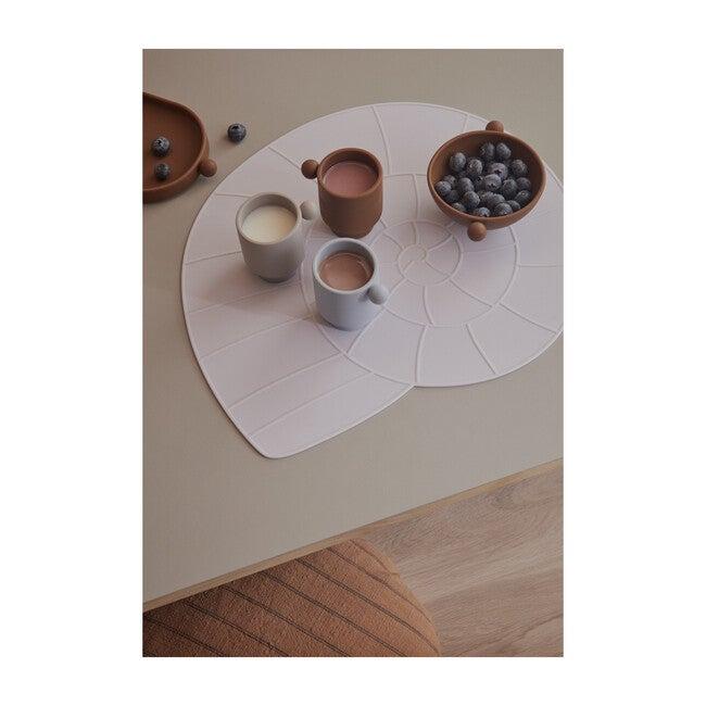 Set of 2 Tiny Inka Bowls, Caramel/Rose