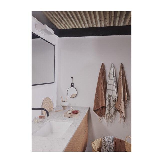 Kyoto Bath Towel, Dark Powder