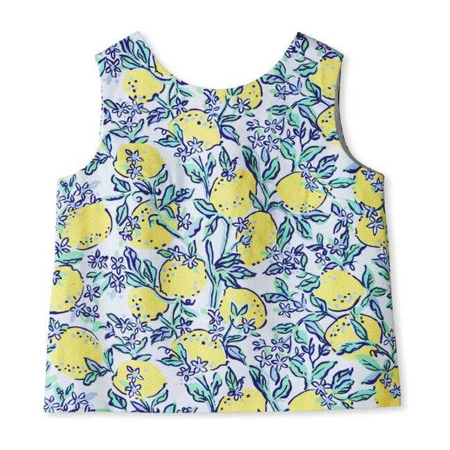 Kingsley Buttonback Top, Lemonade Stand