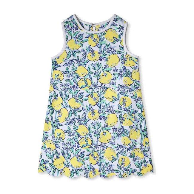 Piper Scallop Dress, Lemonade Stand