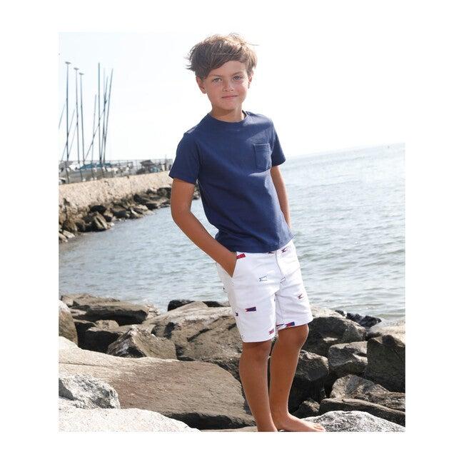 Hudson Burgees Short, Bright White