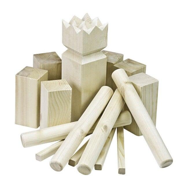 Kubb Original in Wood Case