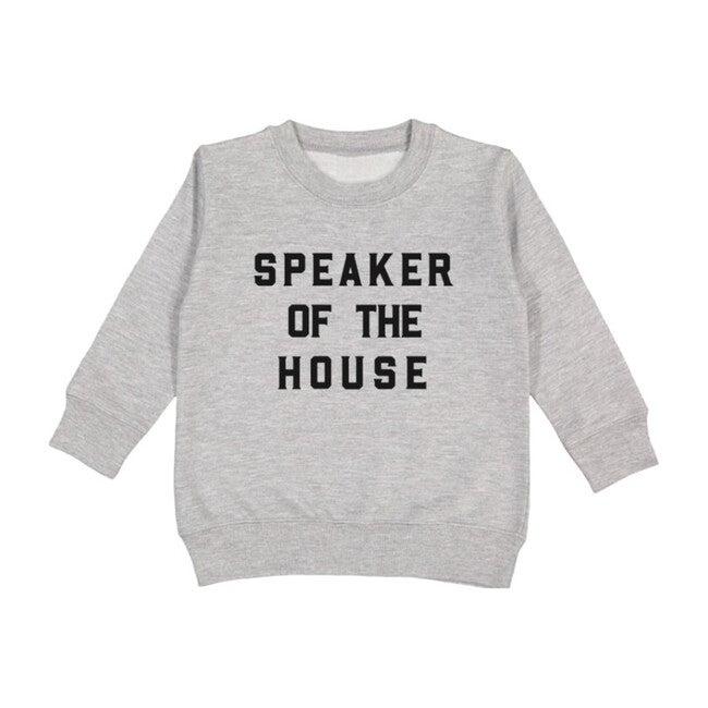 Speaker of the House Pullover, Light Grey