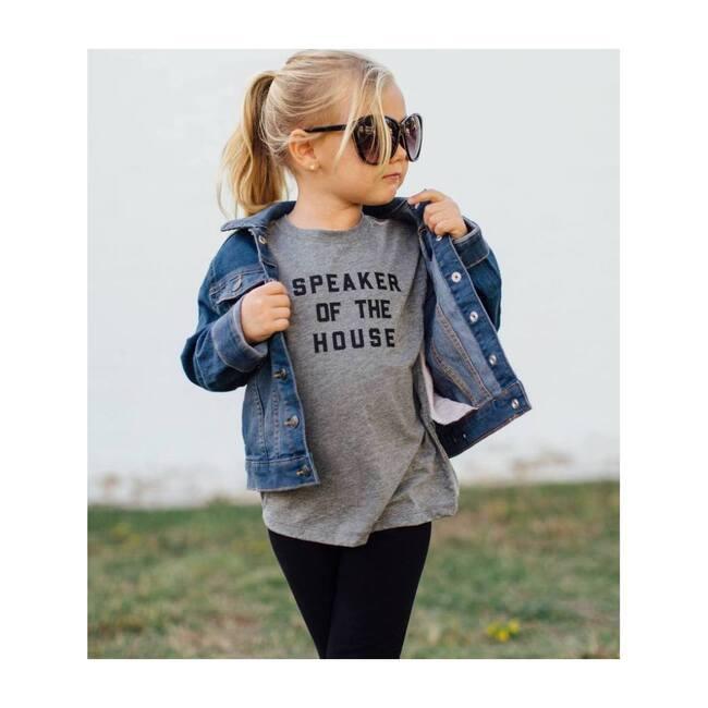 Speaker of the House T-shirt, Light Grey