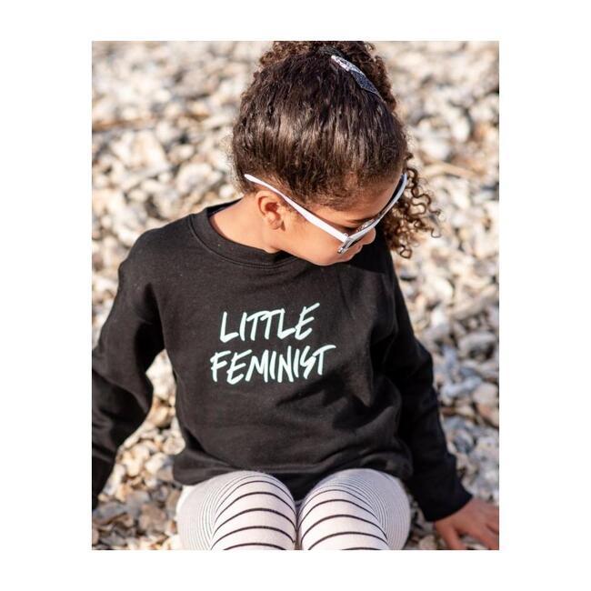 Little Feminist Pullover, Black