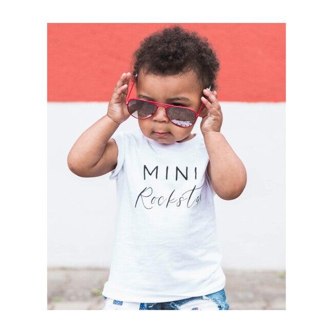 Mini Rockstar T-shirt, White