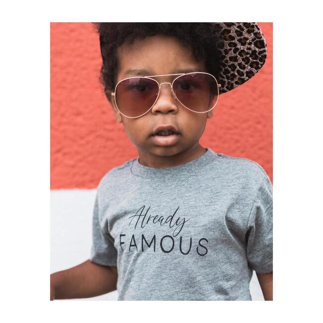 Already Famous T-shirt, Light Grey