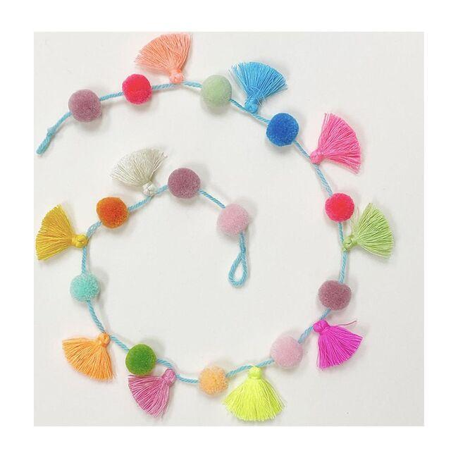 Little Tassel Garland, Multicolour