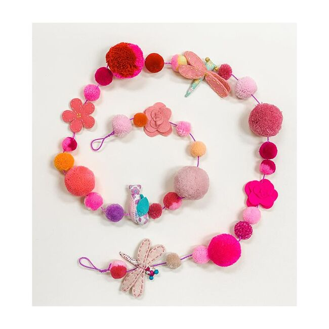 Pink Fairy Garland, Multicolour
