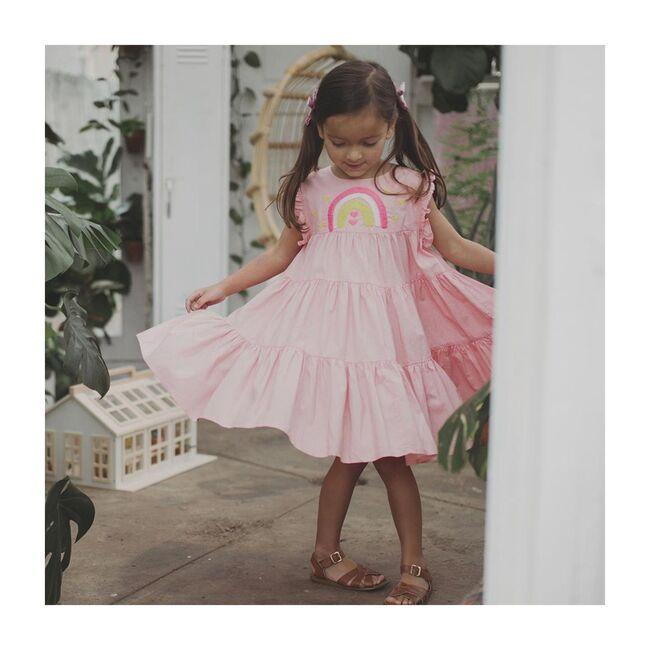 Nola Dress, Peach