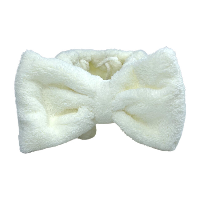 Spa headband, White