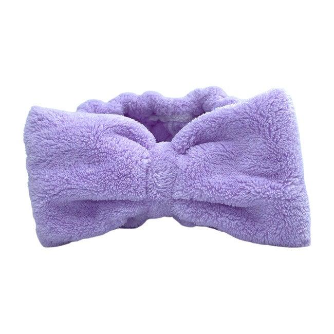 Spa headband, Purple