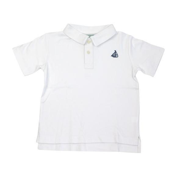 Henry Polo Shirt, White