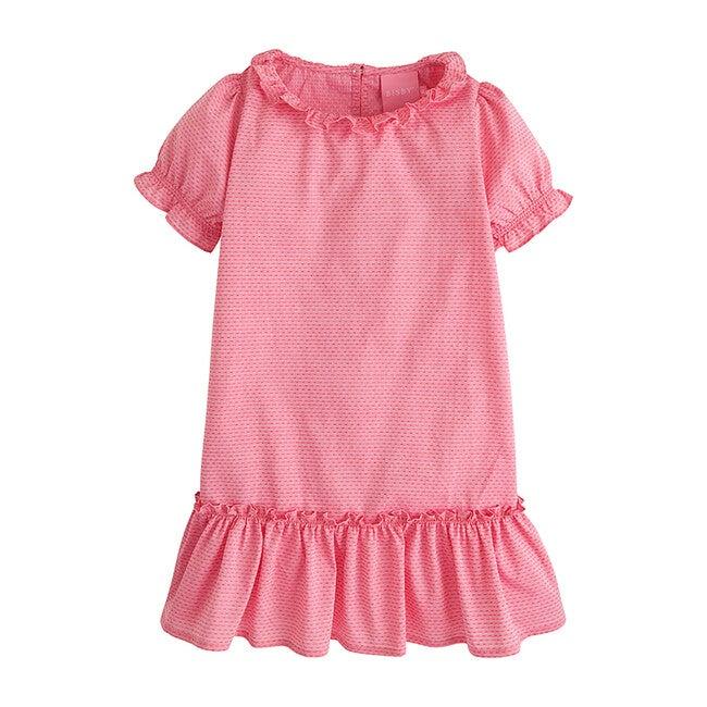 Samantha Dress, Pink Polka Dot