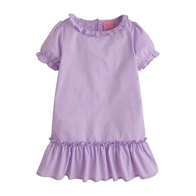 Samantha Dress, Purple Polka Dot