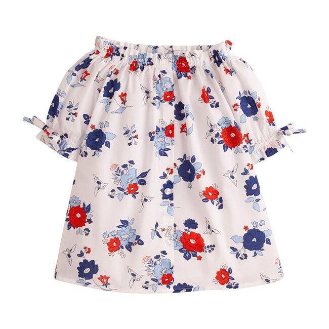 Millie Top, Patriotic Floral