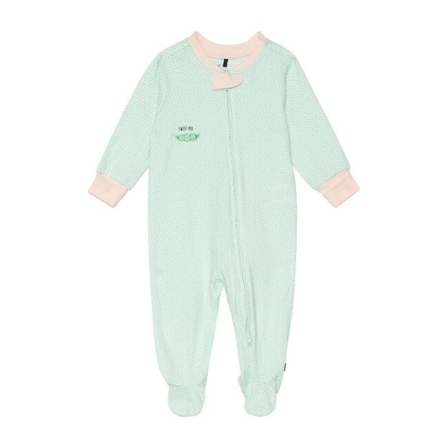 Sweet Pea Printed Pajama, Mint