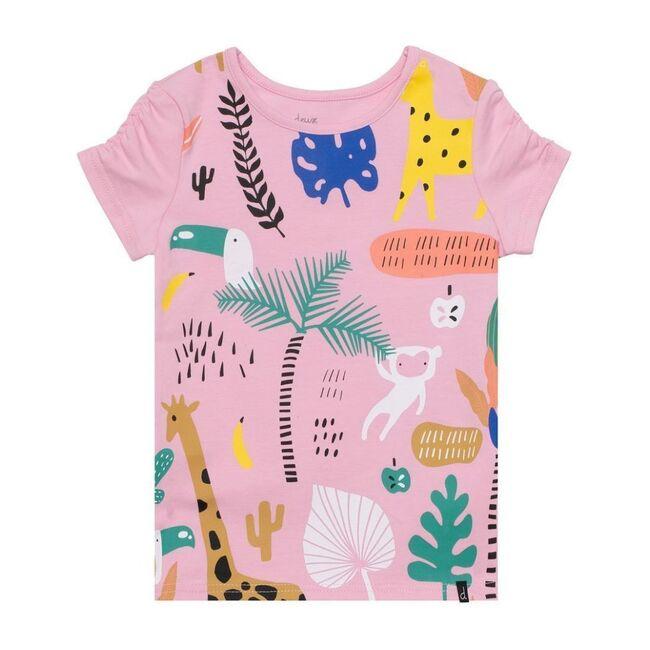 Nature Graphic T-Shirt, Pink