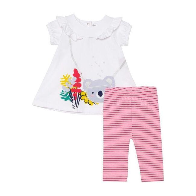Koala Outfit Set, White