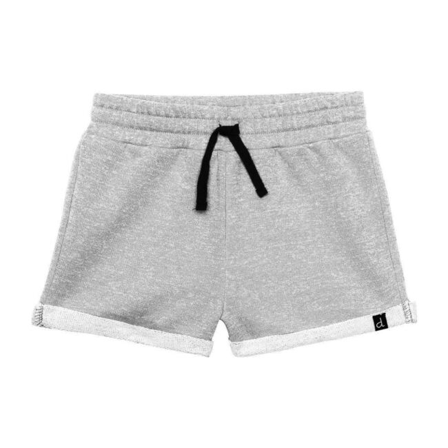 French Terry Shorts, Light Gray