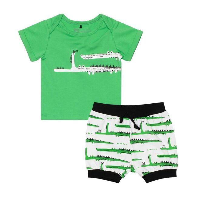 Croc Outfit Set, Green