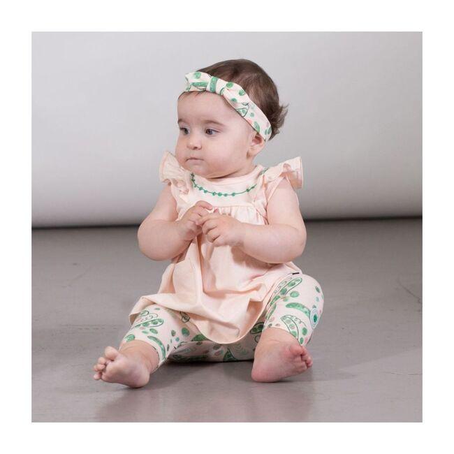 Dress & Legging Set, Peach