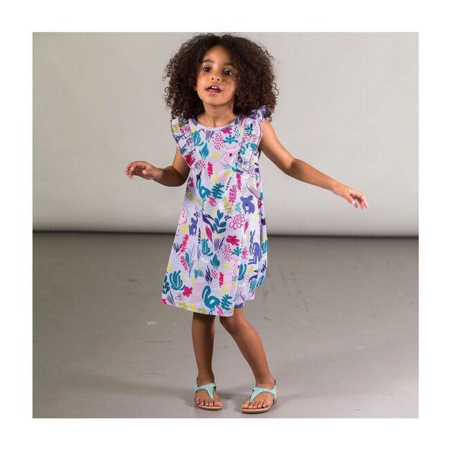Australia Ruffle Dress, Lilac