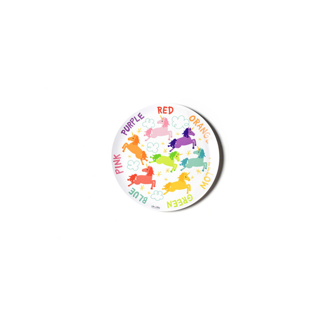 Unicorn Colors Melamine Dinner Plate - Tableware - 1