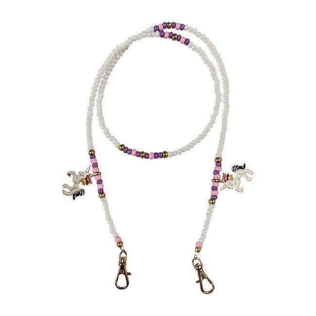 White Unicorn Mask Chain