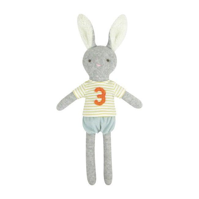 3rd Year Birthday Medium Bunny Doll