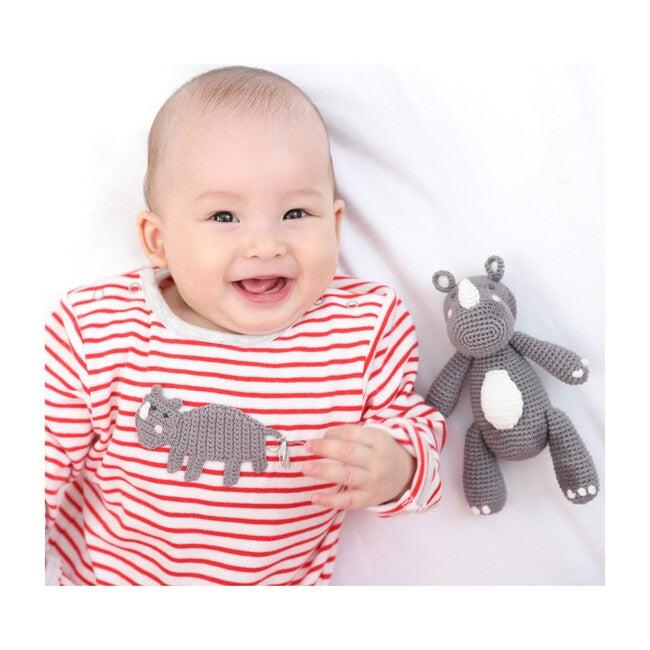 Crochet Rob Rhino Babygro