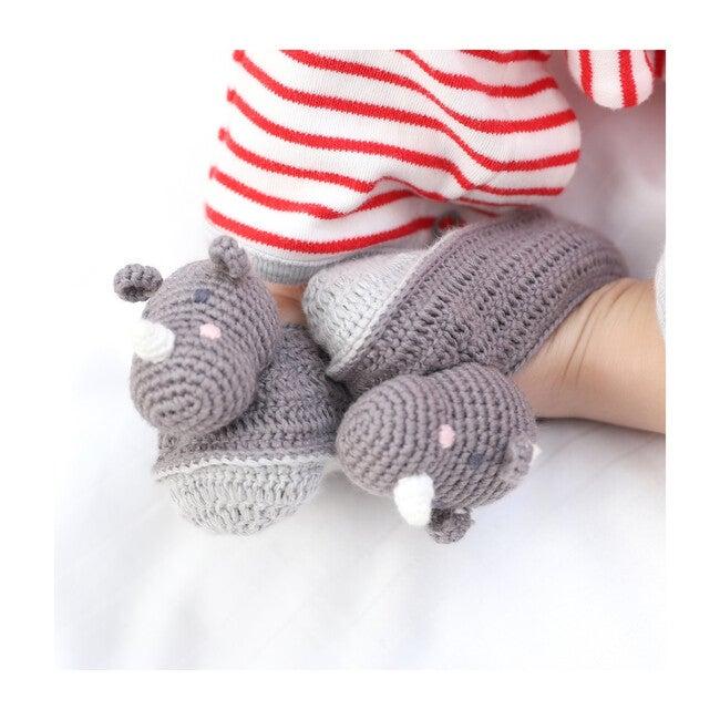 Crochet Rob Rhino Booties