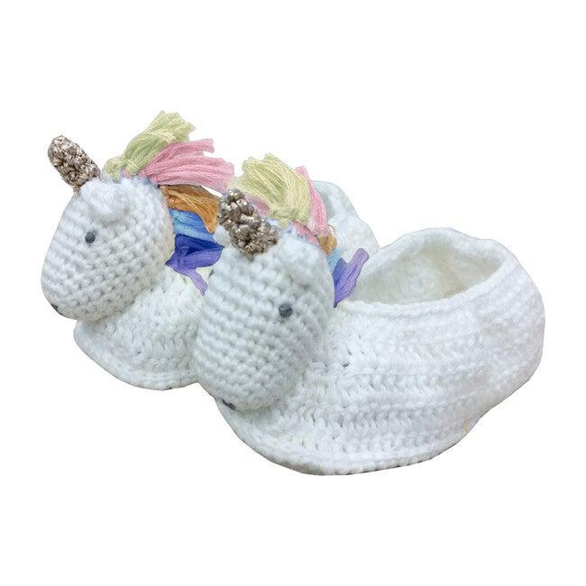 Crochet Unicorn Booties