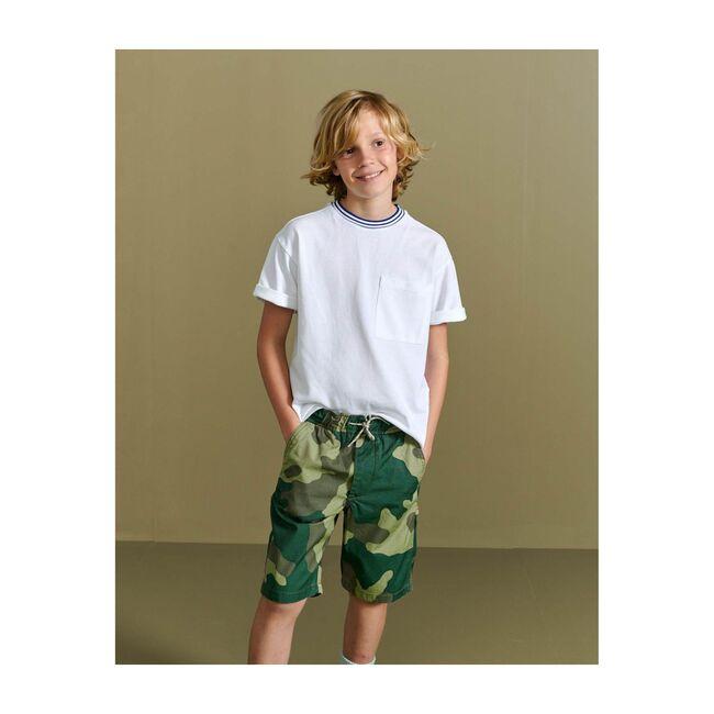 Printer Camo Bermuda Shorts, Multi