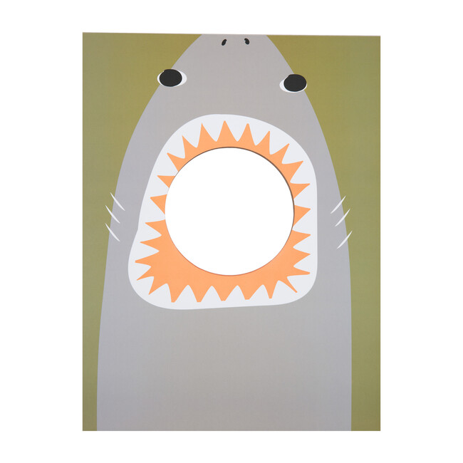 Mini Corn Hole Shark, Olive