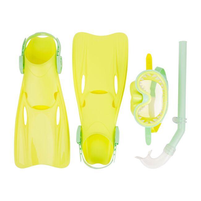 Dive Set Neon, Lime