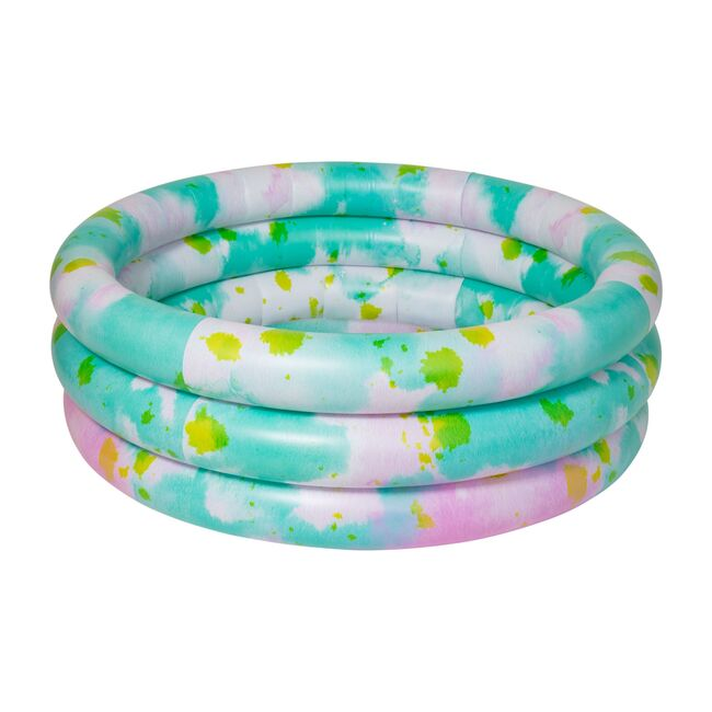 Inflatable Backyard Pool, Tie Dye