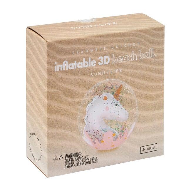 Inflatable 3D Beach Ball, Seahorse