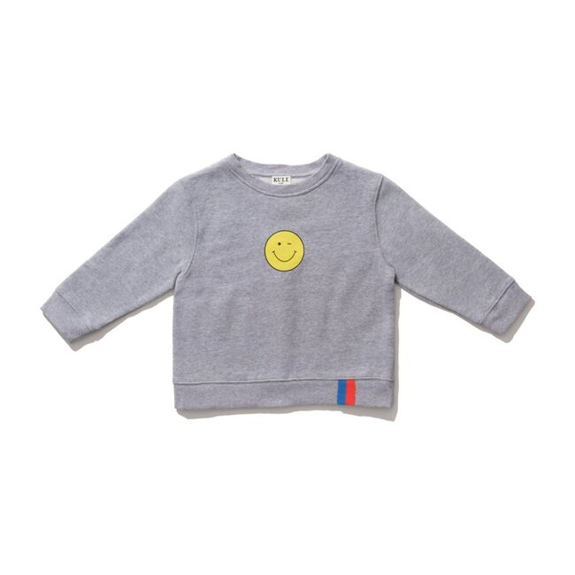 The Raleigh Kids Winky Face, Heather Grey