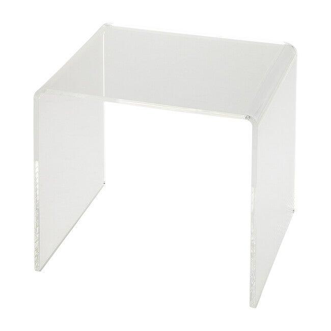Acrylic Side Table, Crystal Clear