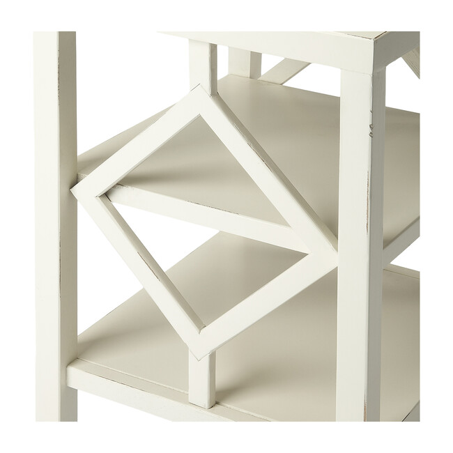 Halcyon Side Table, White